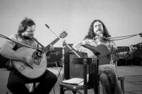 With Fedor Freš, Pezinok 1977