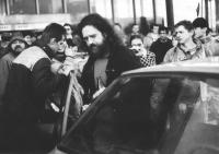 From the airport to Letná, 25 November 1989