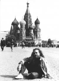 In Moscow, 1990
