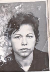 Refugee from GDR, mother, 21. oct. 1978.