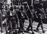 Scout troop, Plzeň 1945