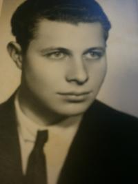 Miloš Kocman as a young man