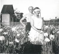 1931 parents od Miloslav Stingl, by the town Bilina