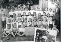 First class, Bilina, M. Stingl 3th row, 2nd from left