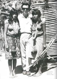 With the Indians of the Maca tribe from Gran Chaca