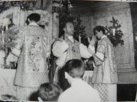 Ordaining a priest in 1966