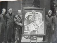 V. Zeman (first from the left) during his studies