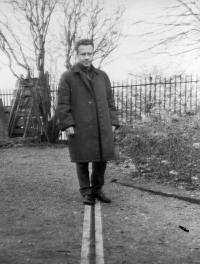 Otto Šimko in London, Prime meridian (Greenwich), 1961