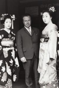 Otto Šimko in Tokyo, 1968