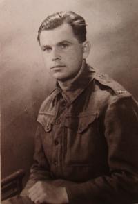 Josef Holec, 1945
