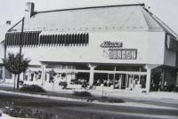 Letenye, Áfész department store, 1971