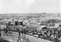 View of Komló in the sixties