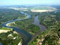 The mouth of the Drava and Mura