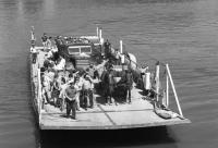 Ferry on the Danube at Mohács, 1972