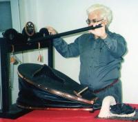 Ignác Zima and a blacksmith bellows