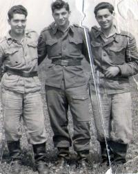 Ignác Zima in the army