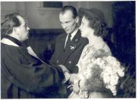 wedding photo 1950