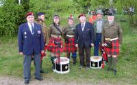 Veteran meeting - The Anniversary of operation Out Distance - Ořechov by Telč