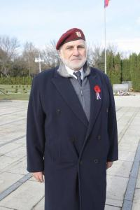Mr. Foršt at the Veteran´s day (2013)