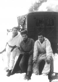 Winter training in Mrákotín (Mr. Foršt in the middle)