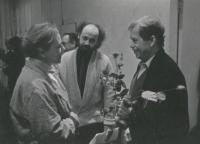 John Bok and Václav Havel