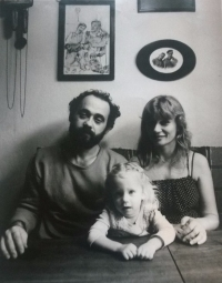 John Bok with his family
