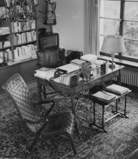 Office of the president Beneš in Sezimovo Ústí, 1948