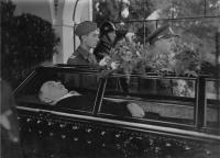 The funeral of the president Edvard Beneš
