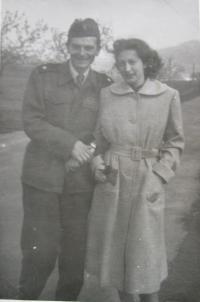 With husband Jaromír Pabián