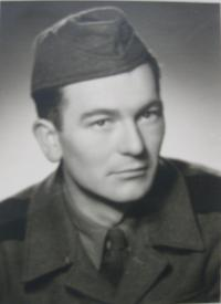 Husband during the military service