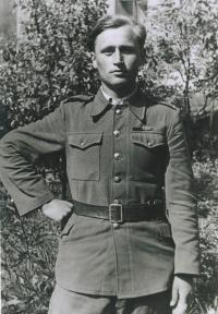 Michal Jvorcak in 1945