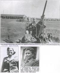 Operators of anti aircraft artillery, Novochopersk, USSR, 1943