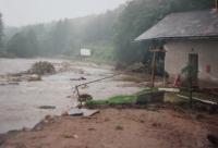 Helena Kociánové House after the floods in 1997