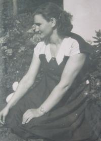Helena Kociánová after release from prison