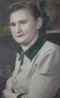 Helena Kociánová before imprisonment