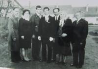 Family Maxiánová (siblings and parents of Helena Kociánové)