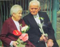 Bernard and his wife, Lucie Dinter