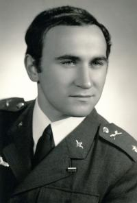 Graduate of Officer´s academy (photo taken after the invasion in August 1968)