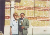 2002 with his wife Dobroslava