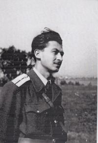 1953, R. Dolecek soldier in CZ Army