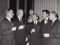 1965, Eddinburg, R. Dolecek 2nd from right