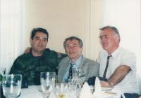 Bělehrad 1998 s generálem Pavkovičekm v uniformě - velitelem srbské kosovské armády