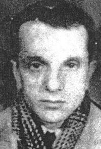Aurel Baghiu in 1963, shortly after his release