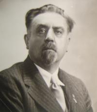 Ministr of exile government Jaromír Nečas