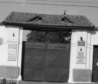 The entrance to Timişoara prison, where Viorel Anghel executed his sentence