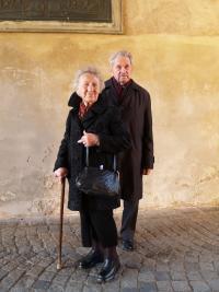 Jiří Hofman s Irenou Malínskou