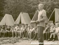 PhDr. Jaroslav Mucha, camp in 1980