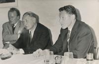 Meeting, Sedláček, Kádě, Havel
