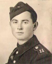 Dalibor Knejfl as a partisan, 1944