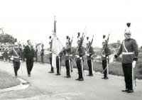 Ambassador in Brasil – honorary troop parade, 1968-72